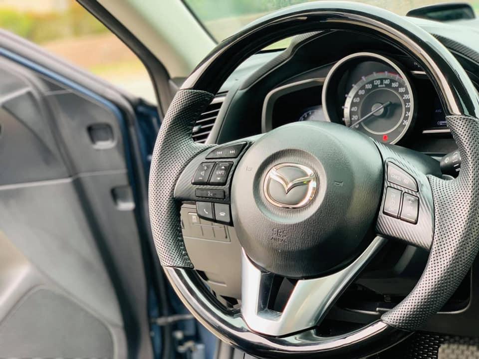 Mazda 3 đời 2015 màu xanh ngọc, chạy chỉ 4 vạn, rao bán giá bất ngờ - Ảnh 5.