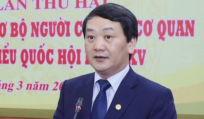 Ủy viên Bộ Chính trị Trần Thanh Mẫn được miễn nhiệm chức Chủ tịch Ủy ban Trung ương Mặt trận Tổ quốc Việt Nam - Ảnh 2.