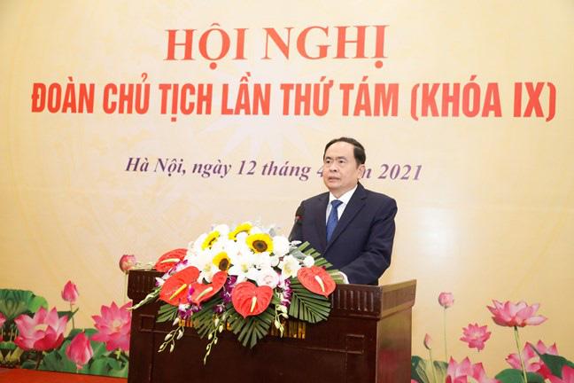 Ủy viên Bộ Chính trị Trần Thanh Mẫn được miễn nhiệm chức Chủ tịch Ủy ban Trung ương Mặt trận Tổ quốc Việt Nam - Ảnh 1.