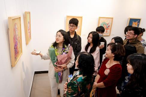 """""""Hồi Hải Mã"""" - triển lãm của những tài năng trẻ được Vinschool ươm mầm - Ảnh 3."""