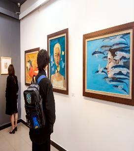 """""""Hồi Hải Mã"""" - triển lãm của những tài năng trẻ được Vinschool ươm mầm - Ảnh 6."""