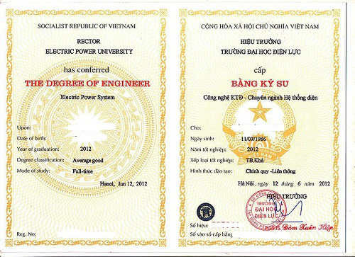 Sinh viên Đại học Điện lực không đủ tiêu chuẩn vẫn được cấp bằng tốt nghiệp - Ảnh 1.
