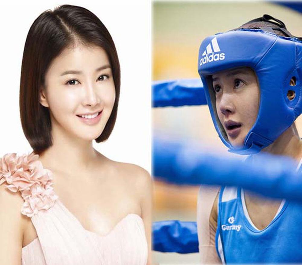 Mỹ nhân màn ảnh Hàn Quốc mê đấm bốc như điếu đổ - Ảnh 1.