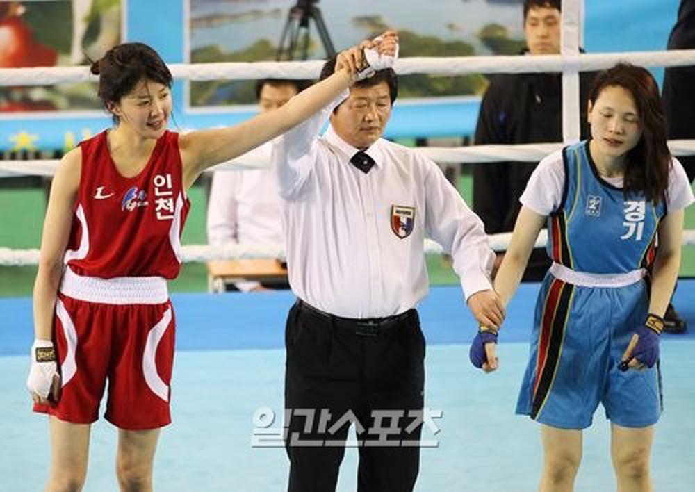Mỹ nhân màn ảnh Hàn Quốc mê đấm bốc như điếu đổ - Ảnh 2.