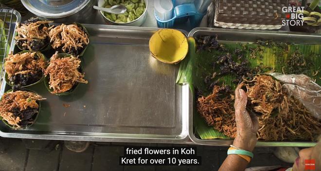 Đặc sản hoa đủ loại rán giòn ở Thái Lan khiến ai đi ngang cũng tình nguyện rút hầu bao - Ảnh 4.