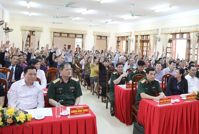Cử tri nơi cư trú nhận xét gì về Bộ trưởng Quốc phòng Phan Văn Giang? - Ảnh 3.