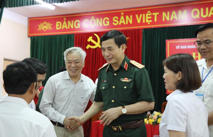 Cử tri nơi cư trú nhận xét gì về Bộ trưởng Quốc phòng Phan Văn Giang? - Ảnh 1.