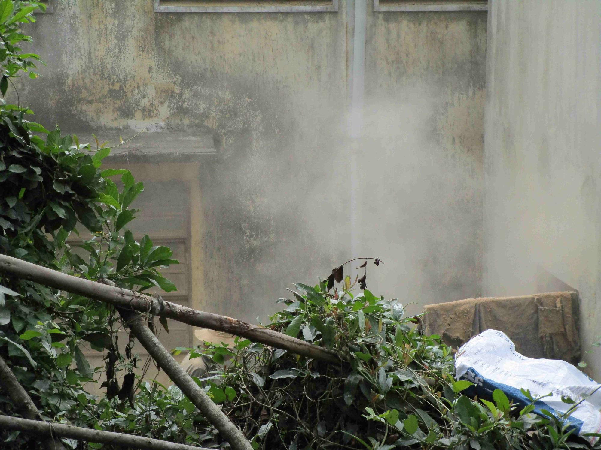 Bình Định: Xí nghiệp chế biến lâm sản Bông Hồng nằm sát khu dân cư gây bức xúc - Ảnh 3.