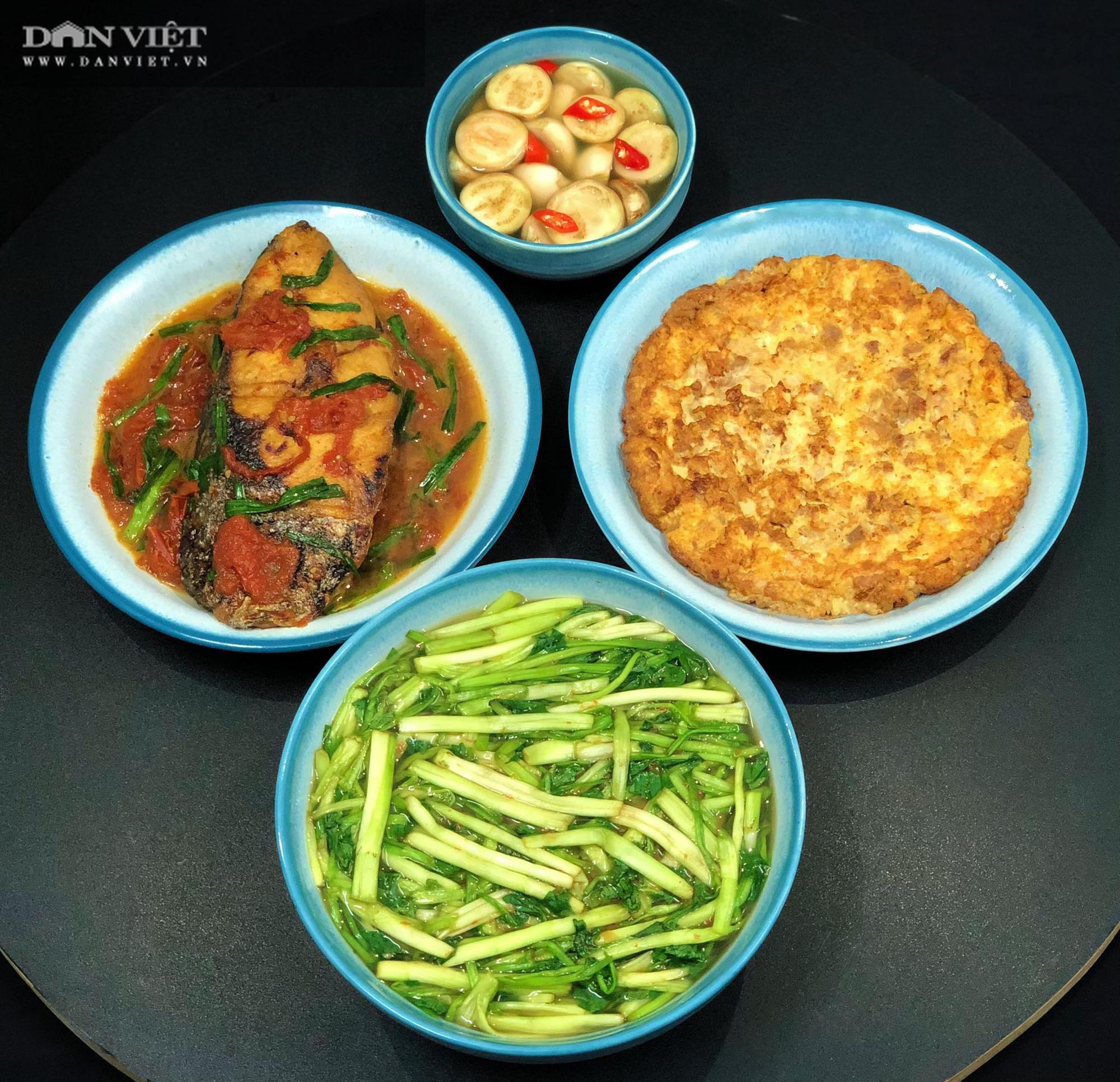 Mẹ đảm Hà thành gợi ý thực đơn cơm nhà đẹp mắt, đủ dinh dưỡng - Ảnh 12.