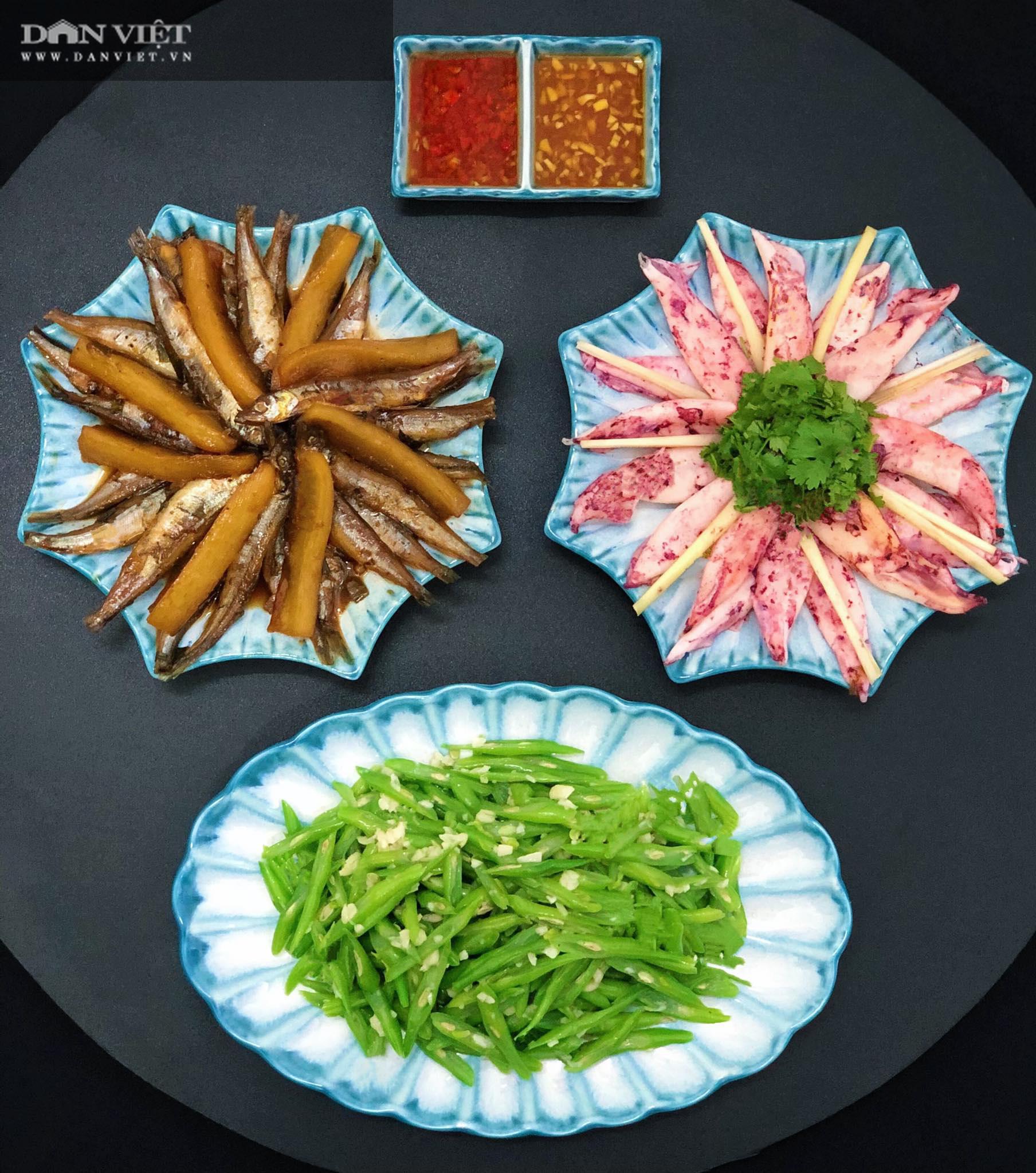 Mẹ đảm Hà thành gợi ý thực đơn cơm nhà đẹp mắt, đủ dinh dưỡng - Ảnh 3.