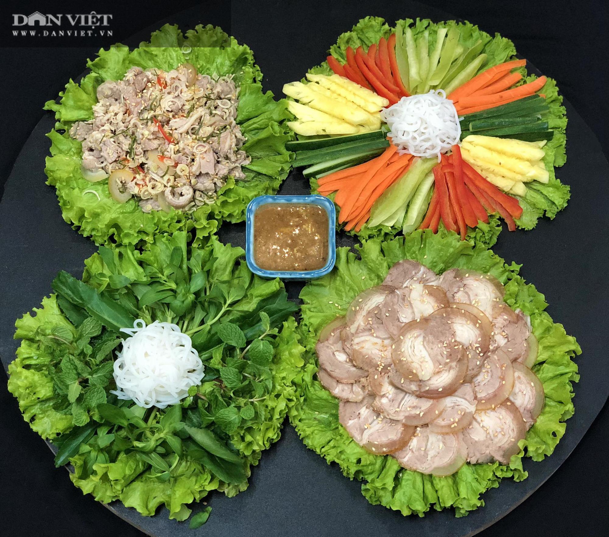 Mẹ đảm Hà thành gợi ý thực đơn cơm nhà đẹp mắt, đủ dinh dưỡng - Ảnh 5.
