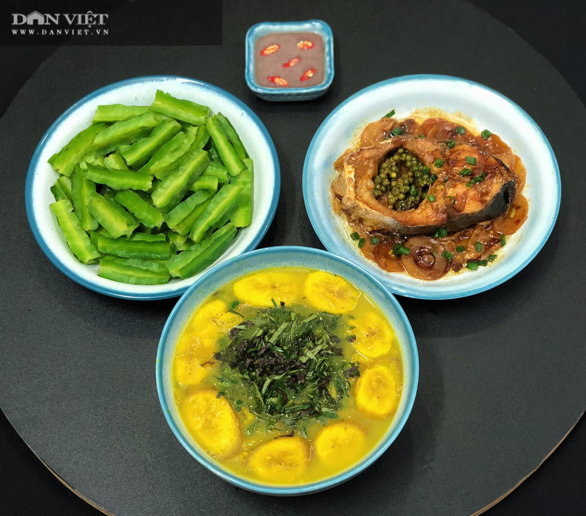 Mẹ đảm Hà thành gợi ý thực đơn cơm nhà đẹp mắt, đủ dinh dưỡng - Ảnh 6.