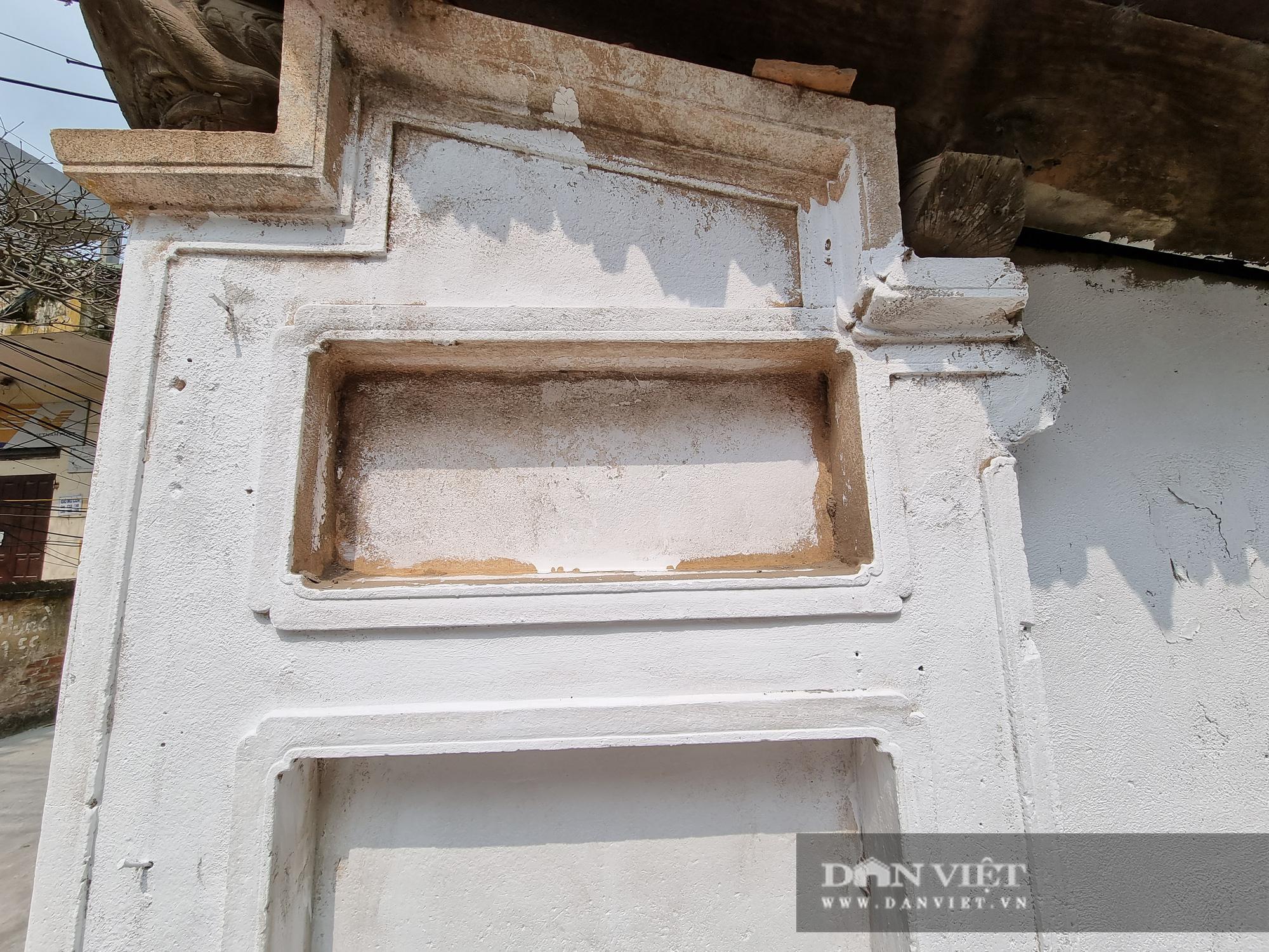 Bức tường tại đình làng cổ Tiên Lữ bất ngờ được sơn trắng - Ảnh 5.