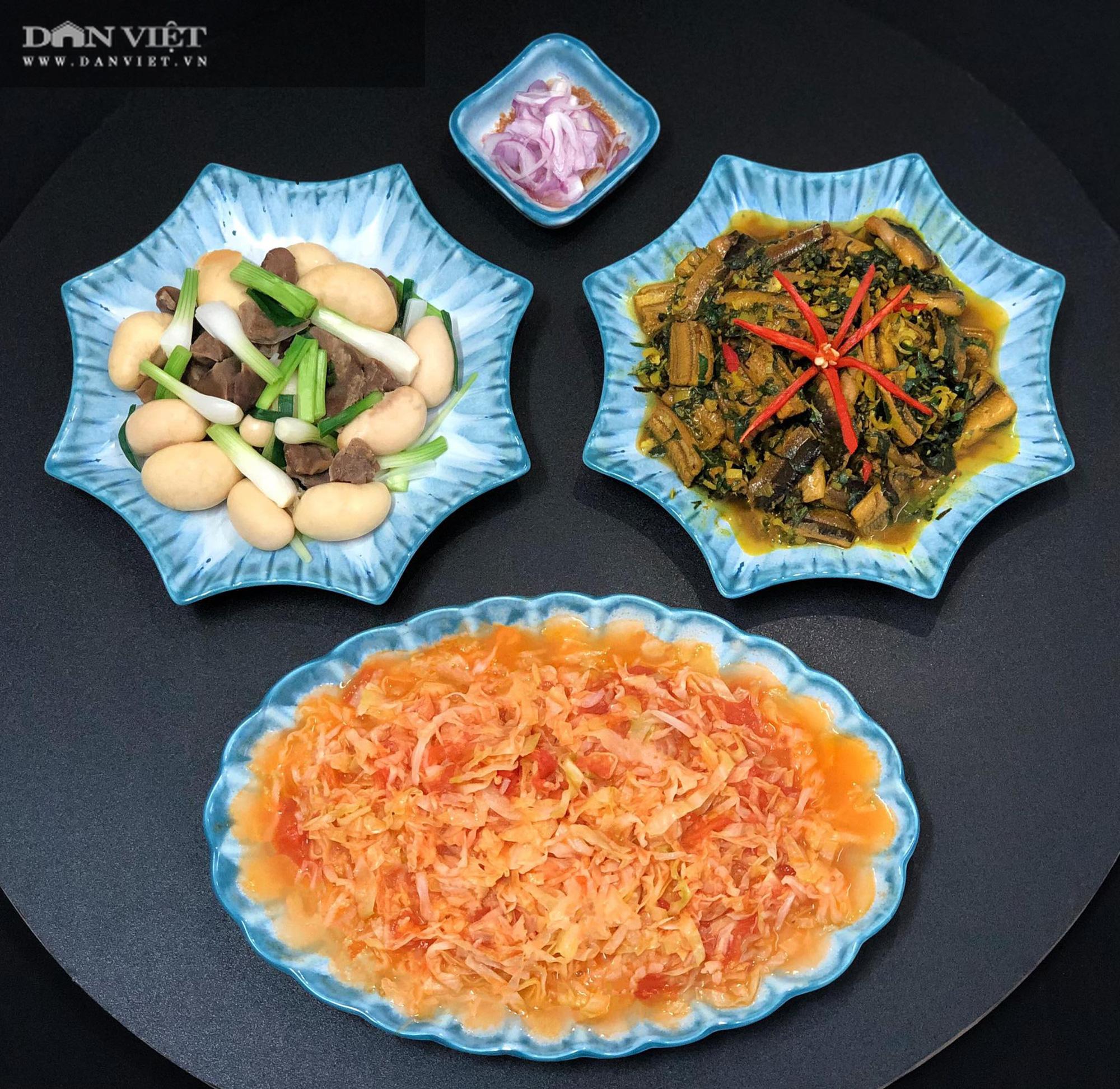 Mẹ đảm Hà thành gợi ý thực đơn cơm nhà đẹp mắt, đủ dinh dưỡng - Ảnh 7.