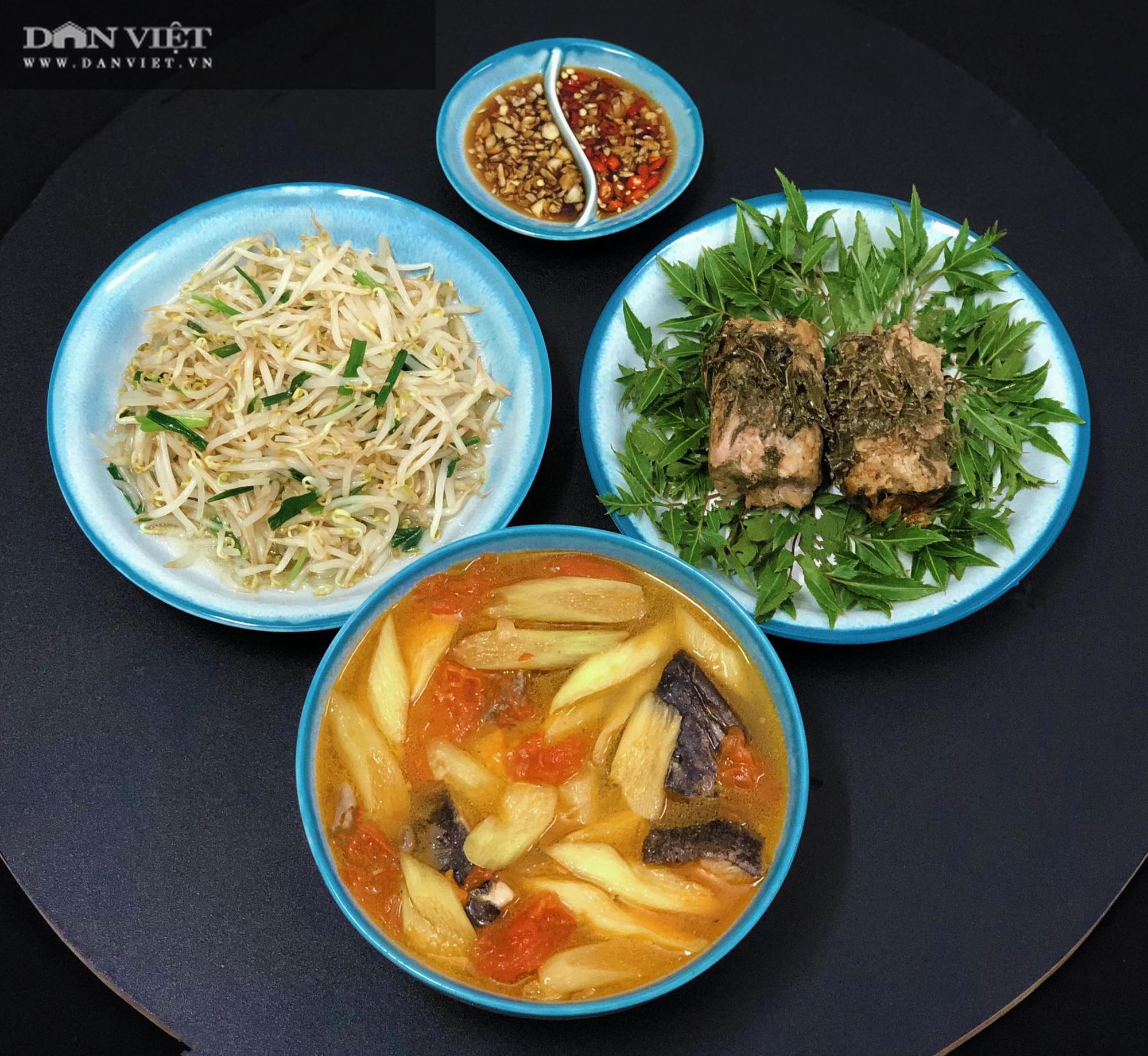 Mẹ đảm Hà thành gợi ý thực đơn cơm nhà đẹp mắt, đủ dinh dưỡng - Ảnh 9.