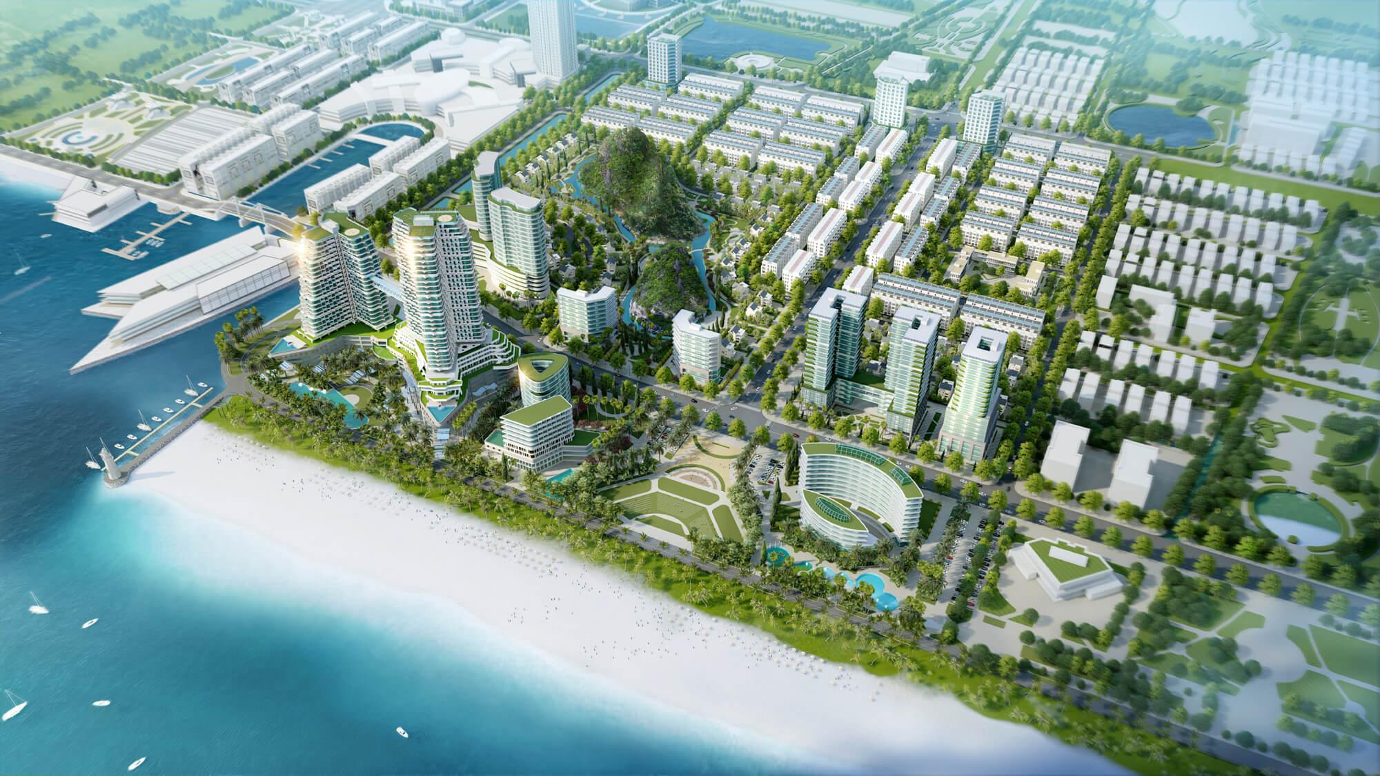 Thực hư khoản nợ xấu của chủ dự án Ocean Park Vân Đồn và bị MB siết nợ - Ảnh 1.