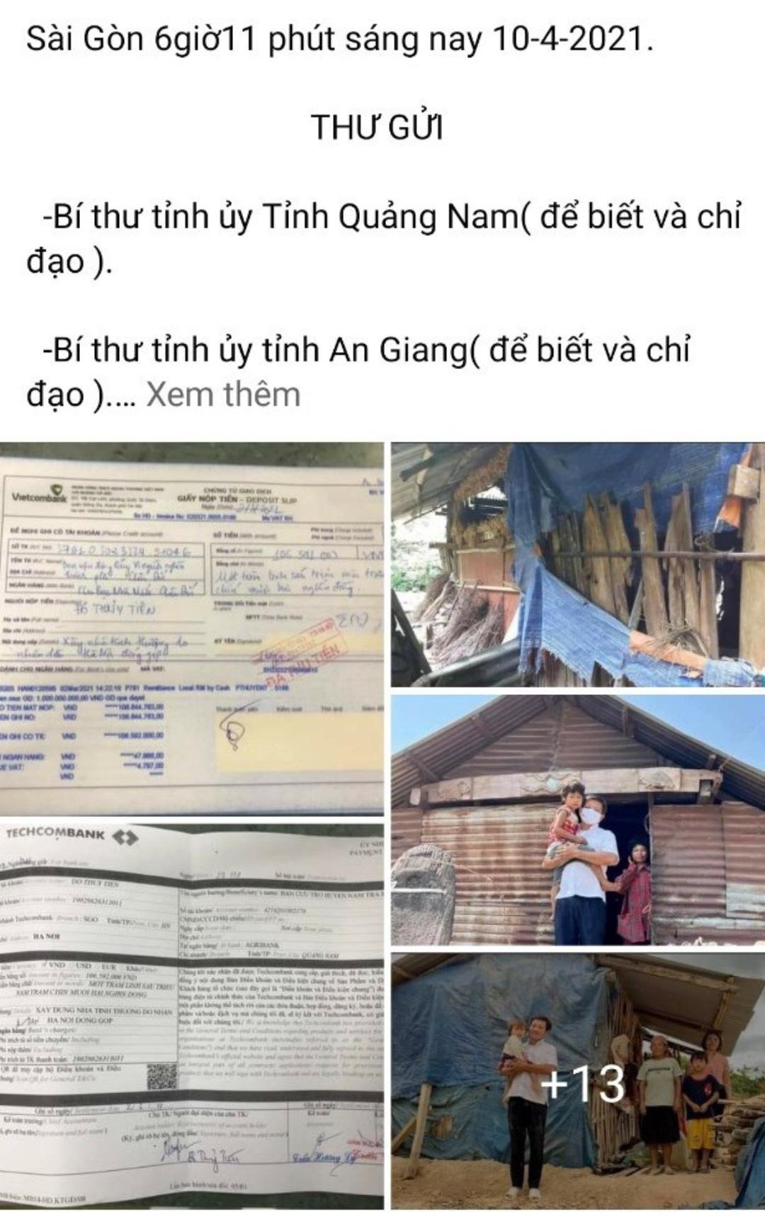 TP.Châu Đốc trả lại 106 triệu đồng cho ông Đoàn Ngọc Hải - Ảnh 1.