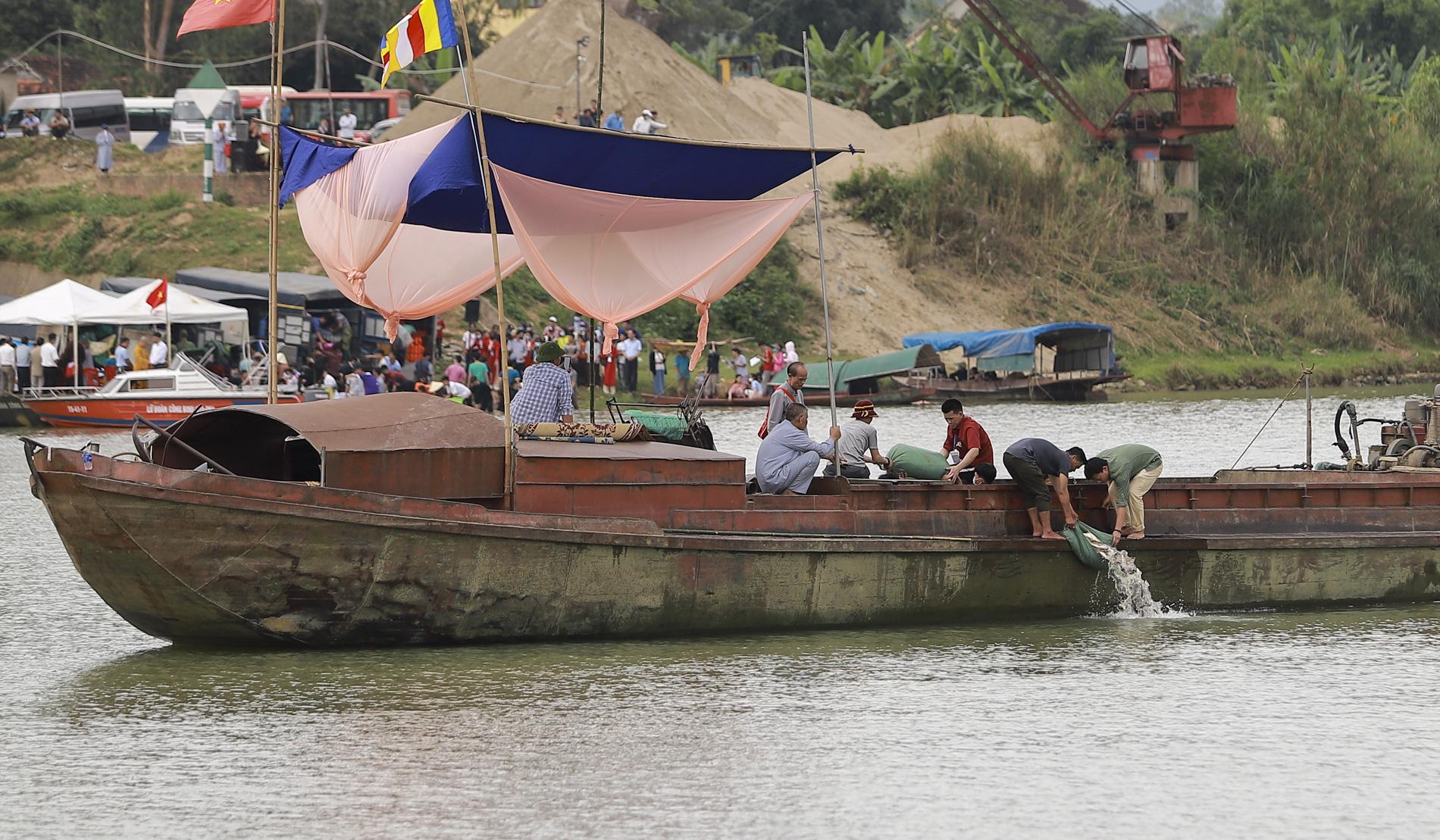 Hơn 10 tấn cá được phóng sinh trên quê hương Bác Hồ - Ảnh 12.