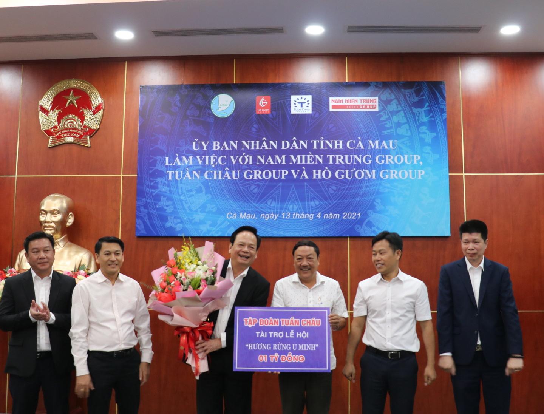 Một tập đoàn muốn đầu tư thành phố hải sản quy mô 500ha ở Cà Mau - Ảnh 2.