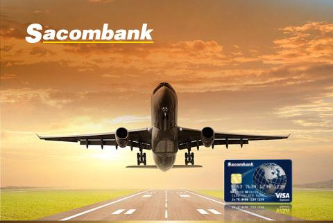 Vietnam Airlines kết hợp với Sacombank phát hành thẻ tín dụng - Ảnh 1.
