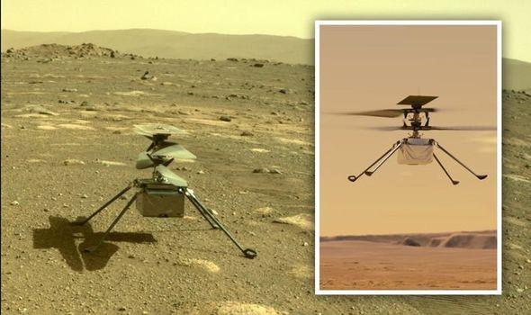 Chuyến bay lịch sử của chiếc trực thăng NASA thám hiểm sao Hỏa đã thành công - Ảnh 1.