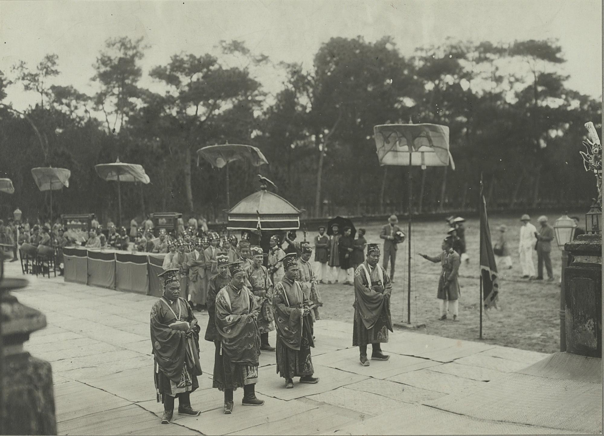 Nghi lễ tế trời đất tại đàn Nam Giao của các vua triều Nguyễn - Ảnh 3.