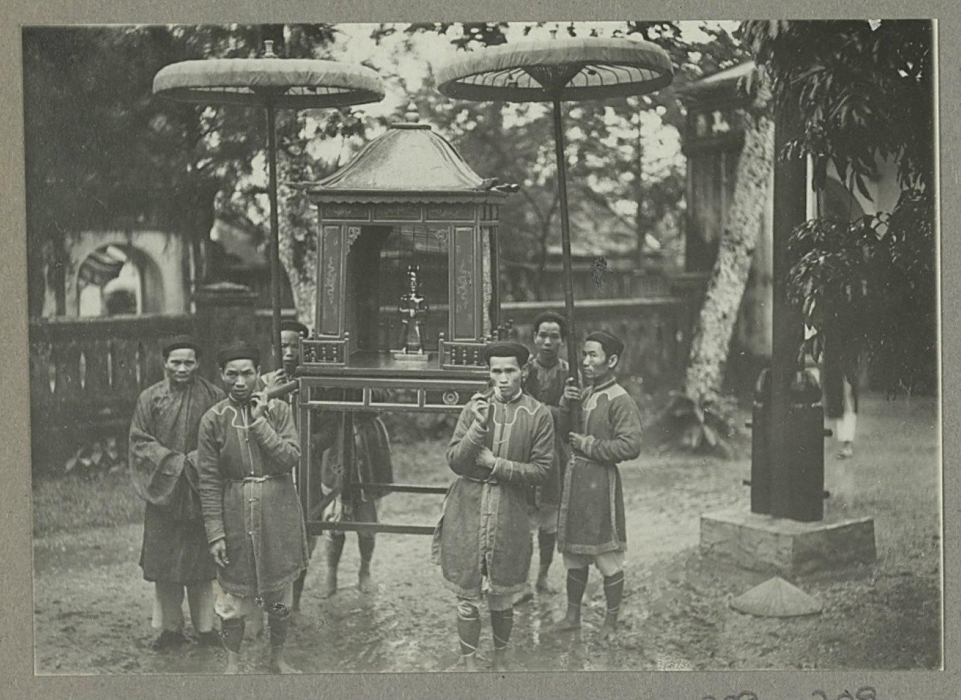 Nghi lễ tế trời đất tại đàn Nam Giao của các vua triều Nguyễn - Ảnh 7.