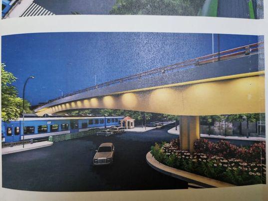Hơn 150 tỷ đồng xây dựng cầu vượt đường sắt Hà Nội - Thái Nguyên - Ảnh 1.