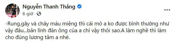 """Cầu thủ TP.HCM bênh Thanh Thắng, tố ngược trọng tài """"vô lương tâm"""" - Ảnh 2."""