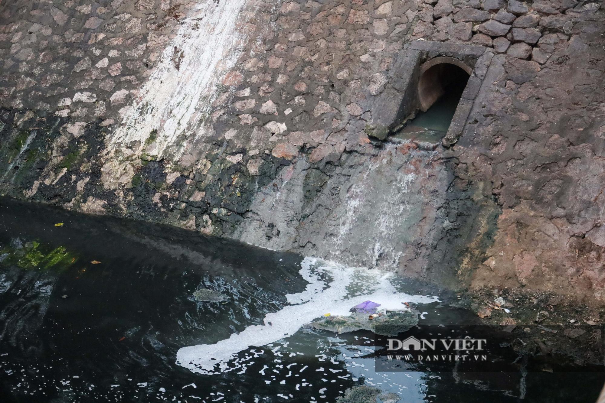 Điểm mặt những con sông ô nhiễm có tiếng ở Hà Nội - Ảnh 12.