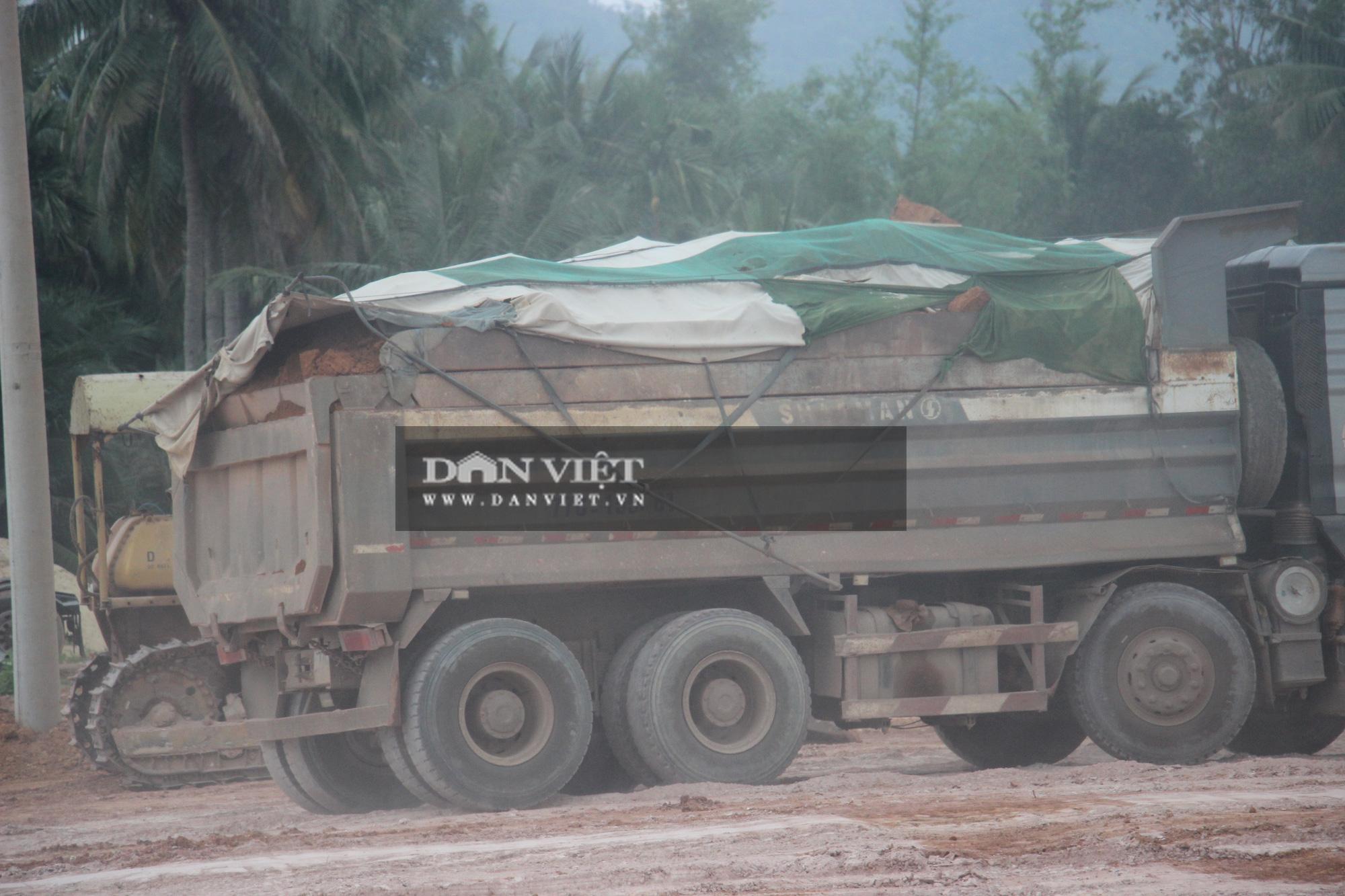 """Bình Định: Đoàn xe hổ vồ """"siêu tải"""" Bá Sanh Đường tung hoành - Ảnh 10."""