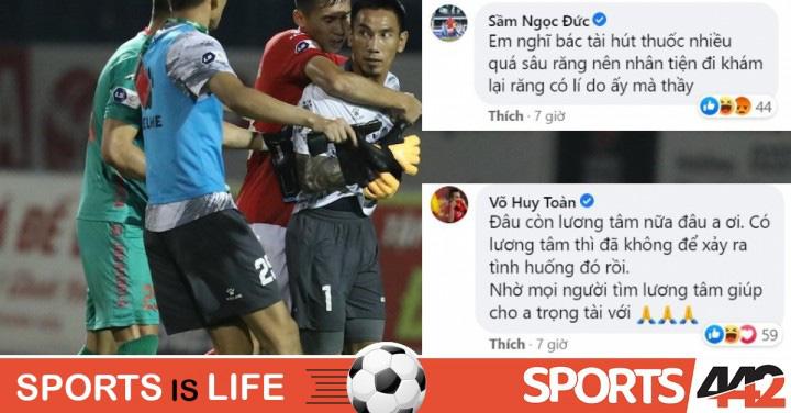 """Cầu thủ TP.HCM bênh Thanh Thắng, tố ngược trọng tài """"vô lương tâm"""" - Ảnh 3."""