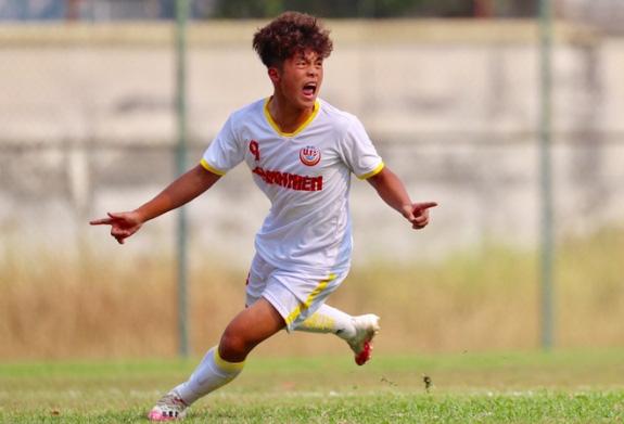 Nguyễn Quốc Việt gây ấn tượng mạnh ở VCK U19 QG.