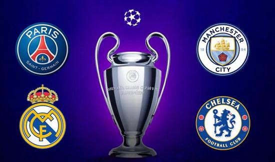 ƯCV vô địch Champions League: Real Madrid, PSG xếp sau Man City - Ảnh 1.