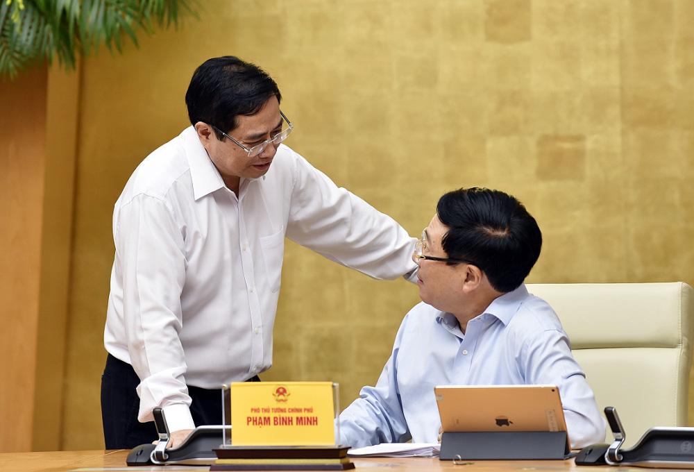 Phiên họp Chính phủ đầu tiên do Thủ tướng Phạm Minh Chính chủ trì - Ảnh 4.