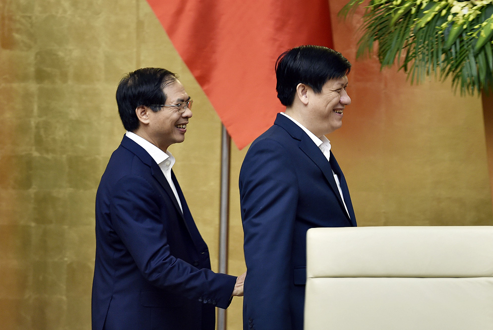 Phiên họp Chính phủ đầu tiên do Thủ tướng Phạm Minh Chính chủ trì - Ảnh 7.