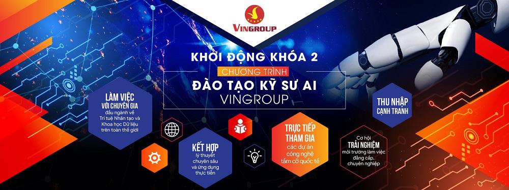 Vingroup khởi động Khoá 2 Chương trình đào tạo kỹ sư AI - Ảnh 1.