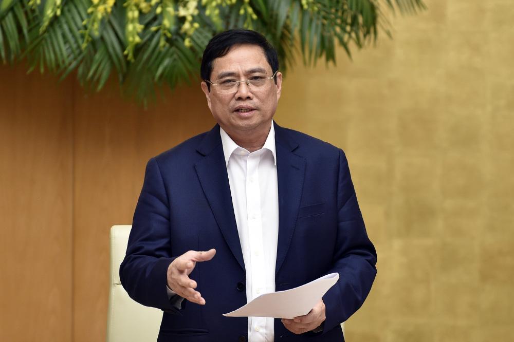 Thủ tướng Phạm Minh Chính: Bảo vệ cán bộ dám nghĩ, dám làm, dám chịu trách nhiệm - Ảnh 1.