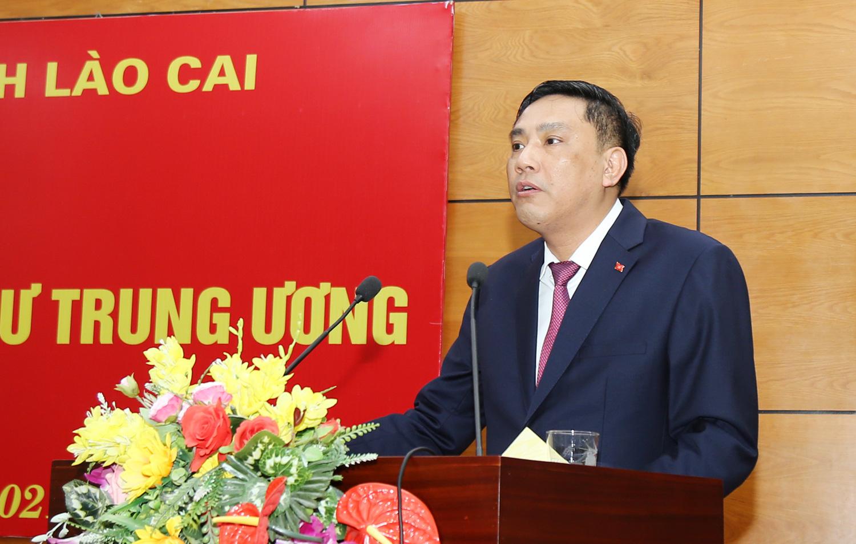 Ban Bí thư điều động ông Hoàng Giang giữ chức Phó Bí thư Tỉnh ủy - Ảnh 1.