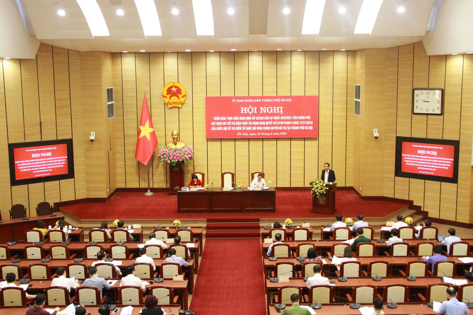 Thứ trưởng Bộ Nội vụ nói về việc Hà Nội tổ chức chính quyền đô thị khác với Đà Nẵng và TP.HCM - Ảnh 1.