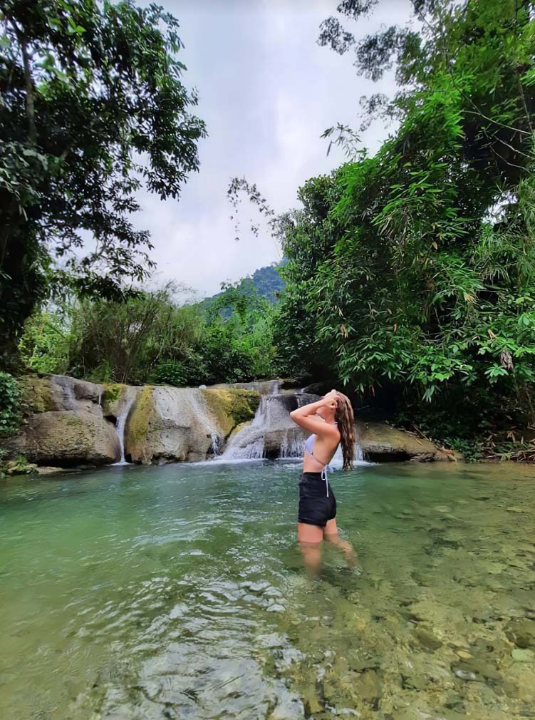 Yên Bái: Nậm Chắn - trải nghiệm tắm tiên và thưởng thức cá suối - Ảnh 8.