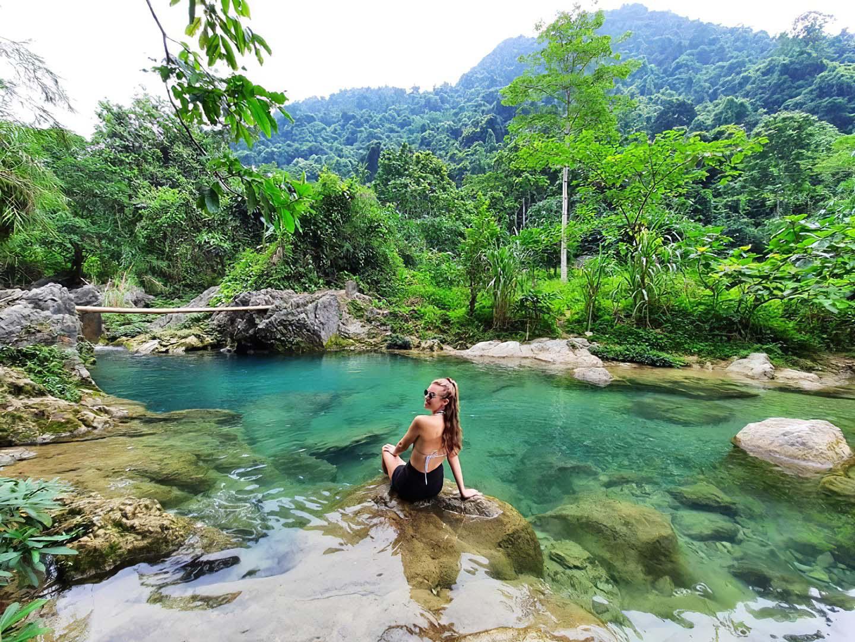 Yên Bái: Nậm Chắn - trải nghiệm tắm tiên và thưởng thức cá suối - Ảnh 5.