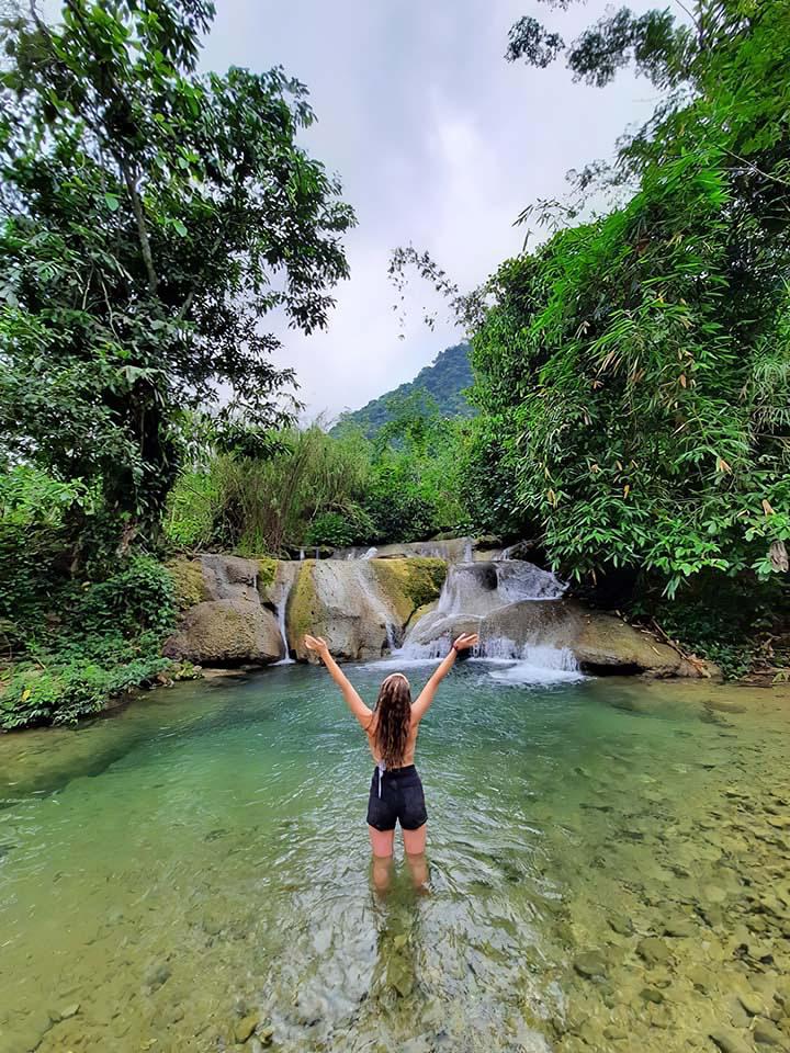 Yên Bái: Nậm Chắn - trải nghiệm tắm tiên và thưởng thức cá suối - Ảnh 6.
