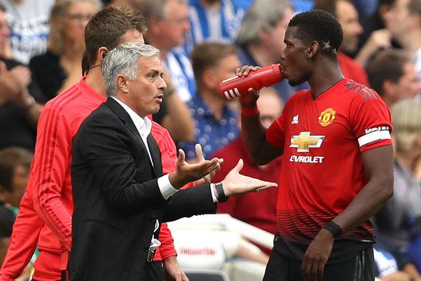Mourinho và Pogba có nhiều mâu thuẫn.