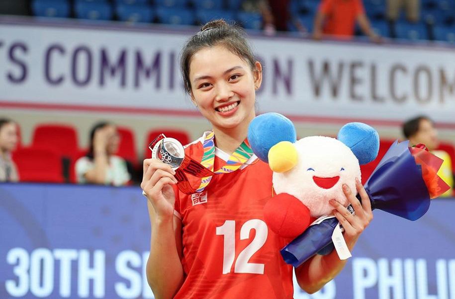 Hoa khôi bóng chuyền Việt Nam cao 1,74 m được báo chí thế giới khen ngợi - Ảnh 7.