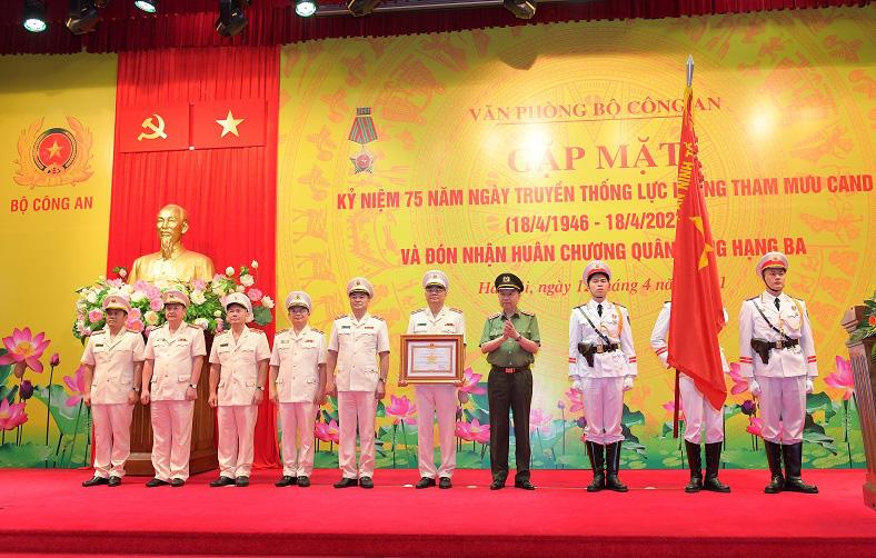 Đại tướng Tô Lâm: Lực lượng Tham mưu Công an góp phần tô thắm lá cờ truyền thống của ngành - Ảnh 4.