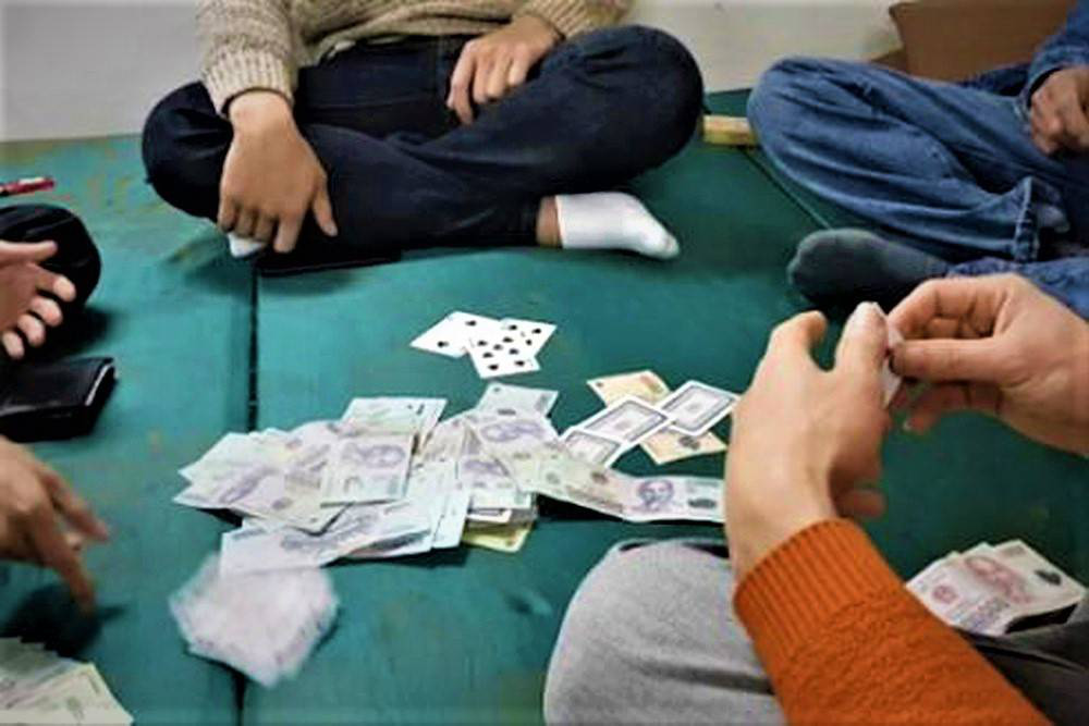 Tuyên án 3 cán bộ cấp huyện đánh bạc cùng 2 chủ doanh nghiệp ở Quảng Trị - Ảnh 1.