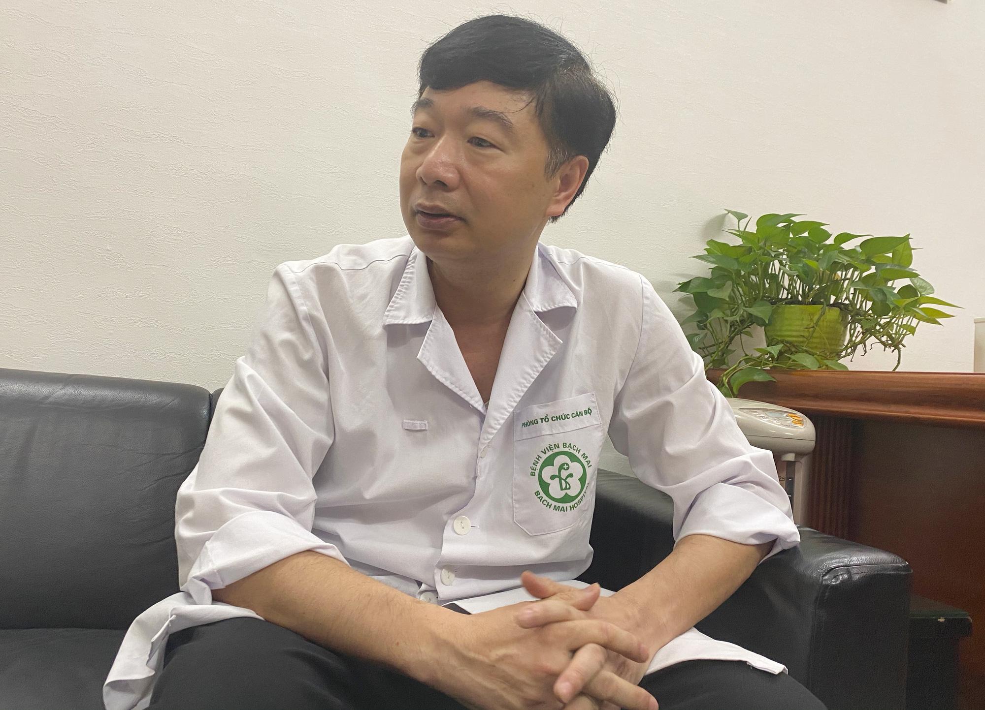 """Lãnh đạo Bệnh viện Bạch Mai: """"Không có mất mát hy sinh nào mà không có kết quả"""" - Ảnh 1."""