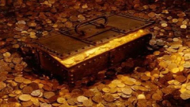 Phát hiện kho bí mật cất giấu tiền và kim loại quý của bọn khủng bố - Ảnh 1.