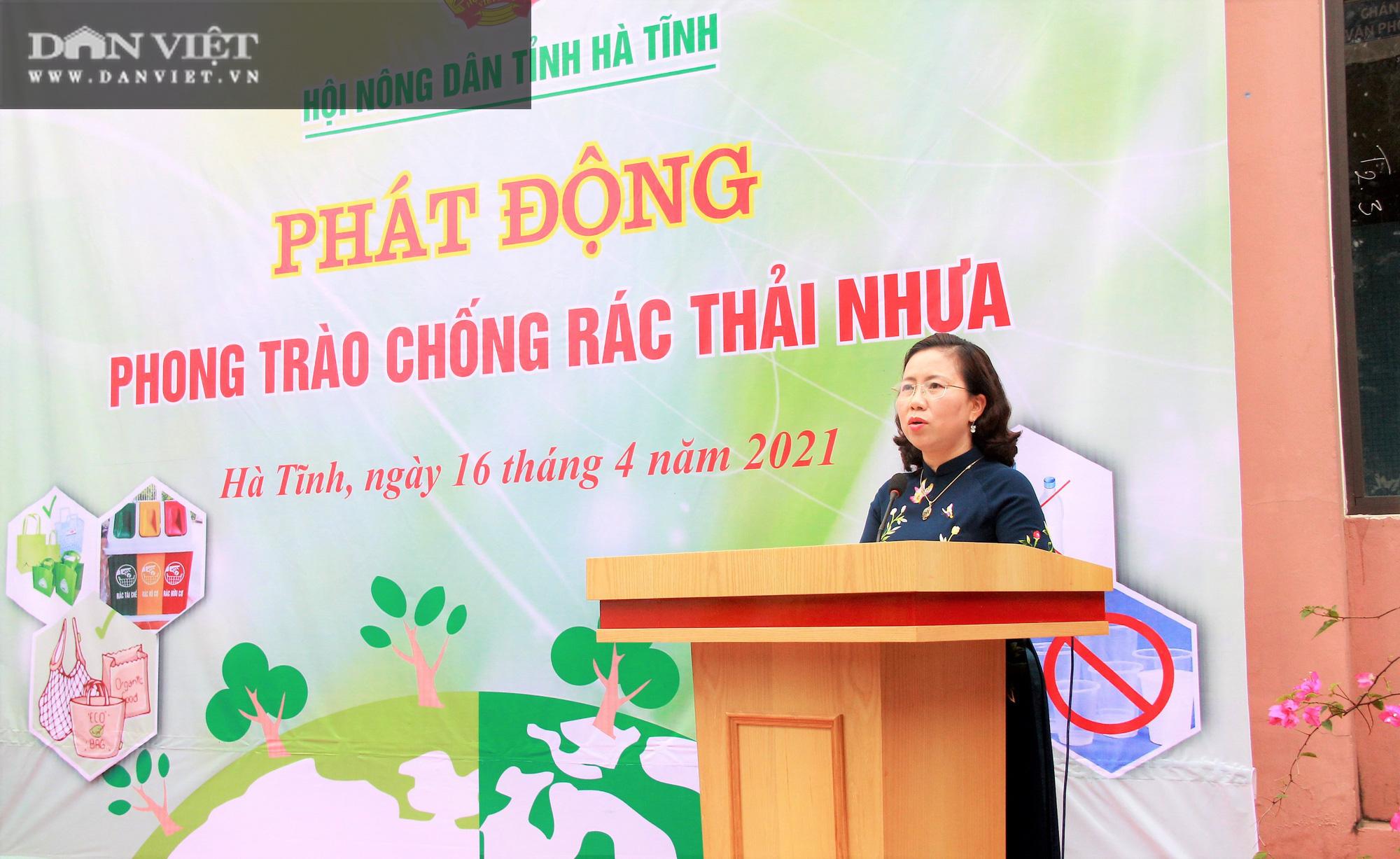 """Hội Nông dân Hà Tĩnh phát động phong trào """"Chống rác thải nhựa"""" - Ảnh 2."""